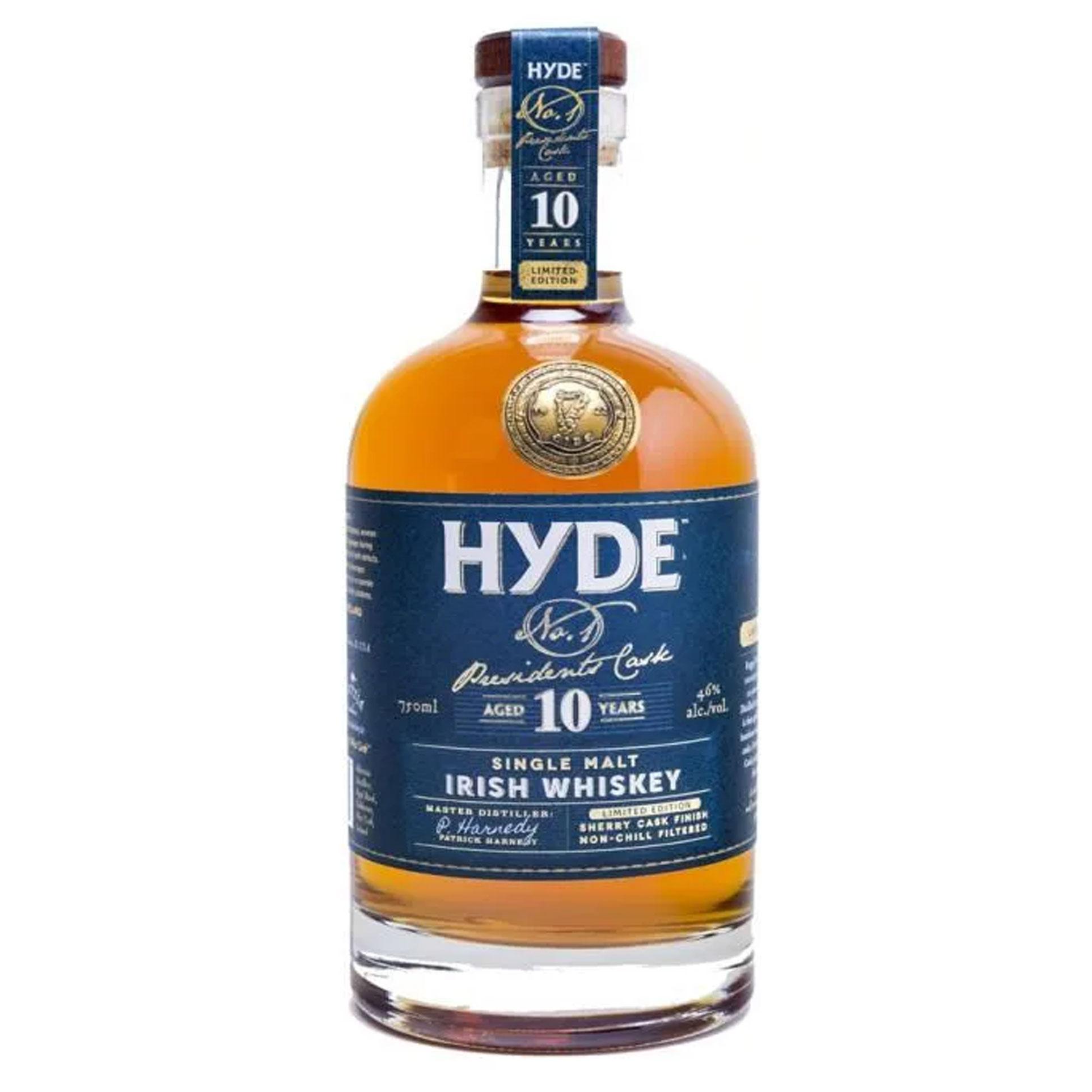 Whisky - Hyde - N°7 - Sherry Finition - Irlande - Non Tourbé