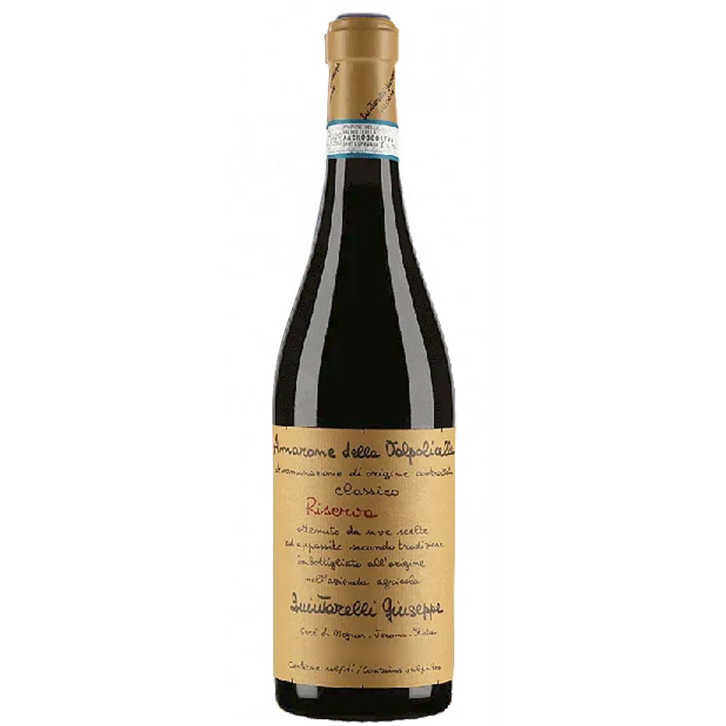Amarone della Valpolicella Classico -Riserva - DOCG - Domaine Giuseppe Quintarelli - 2012
