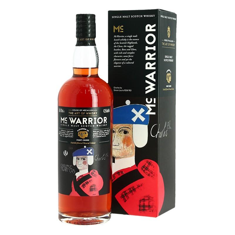 Whisky - House Of Mc Callum - MC Warrior - Single Malt Scotch Whisky - Port Cask