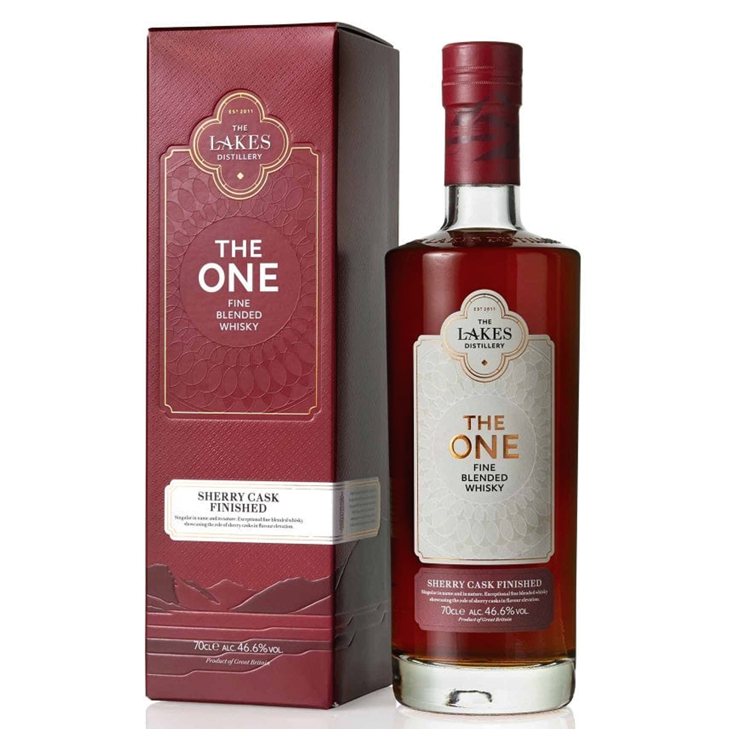 Whisky - The Lakes - The One - Sherry Cask Finished - Fine Blended - Angleterre
