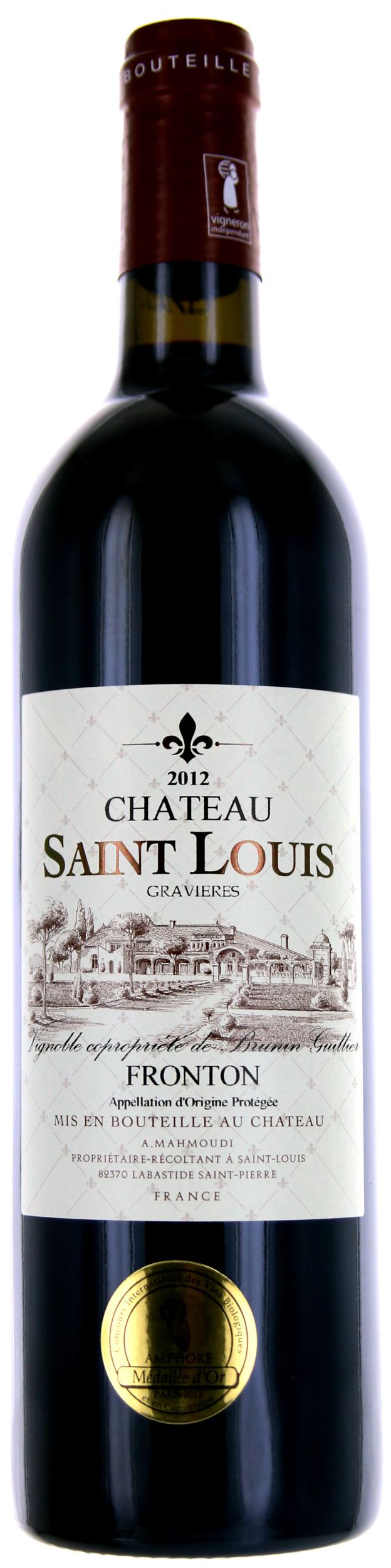 Fronton Rouge - Château Saint-Louis - 2014 - BIO