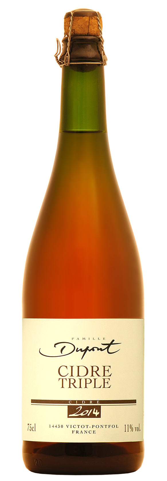 Cidre Triple - 8,5° - Domaine Dupont