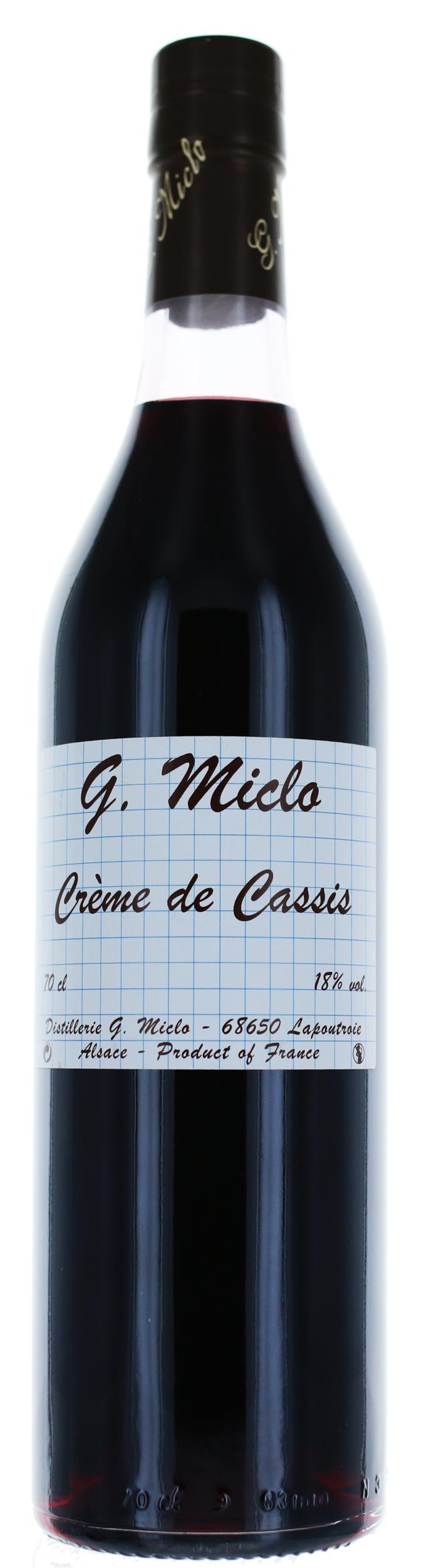 CREME DE CASSIS - 16° - G. Miclo