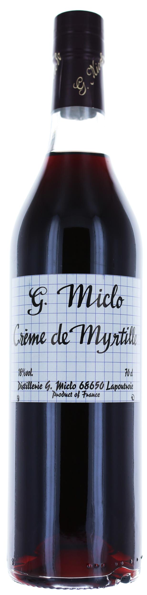 CREME DE MYRTILLE - 18° - G. Miclo