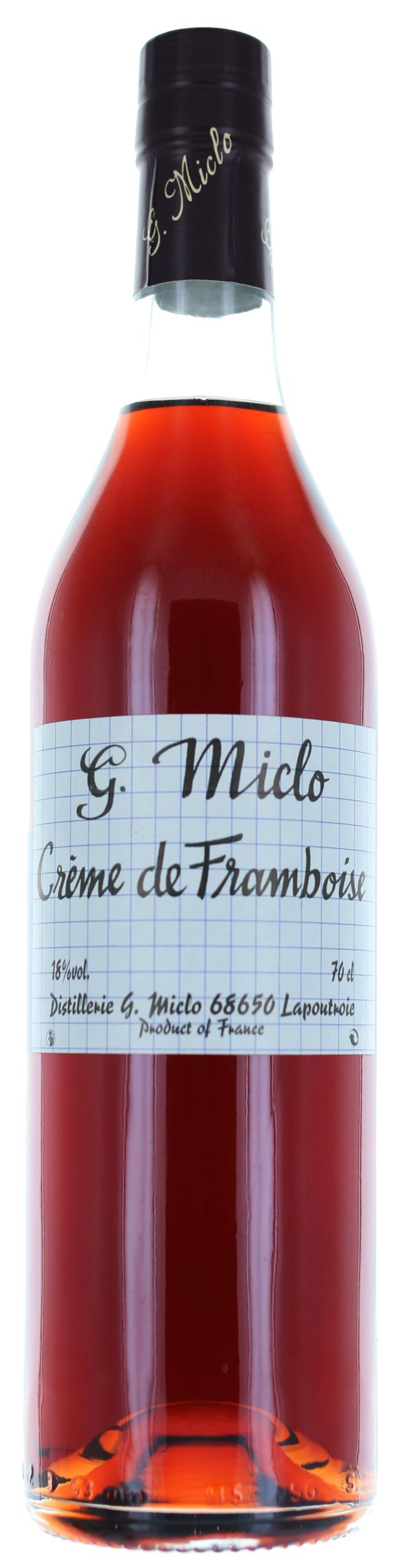 CREME DE FRAMBOISE - 18° - G. Miclo