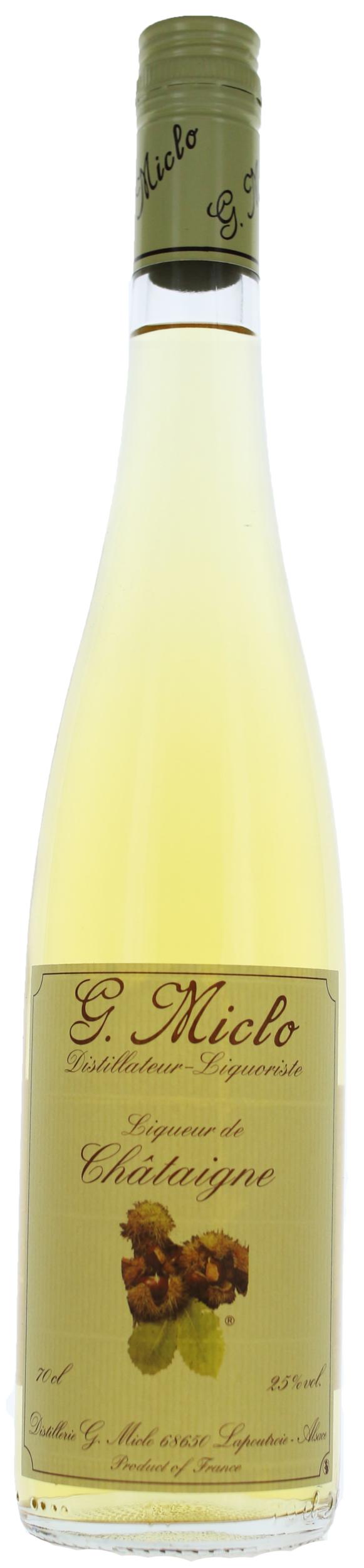 Liqueur - Châtaigne - Distillerie G.Miclo - 25° - 70cl