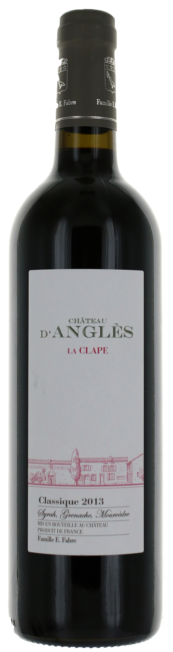 La Clape - Classique Rouge - Domaine d\'Angles  -  2018