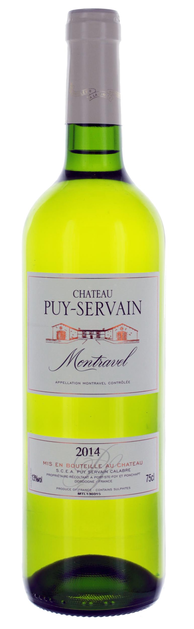 Montravel Sec - Château Puy-Servain - 2019