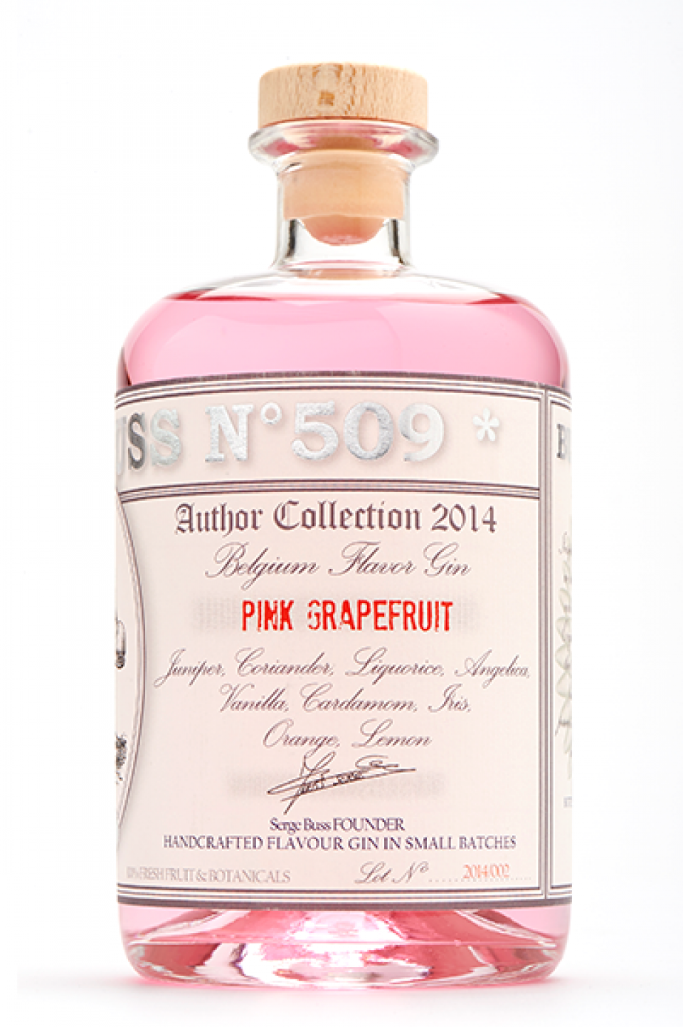 Gin - Buss n°509 - Pink Grapefruit - Belgium - 70cl - 40°