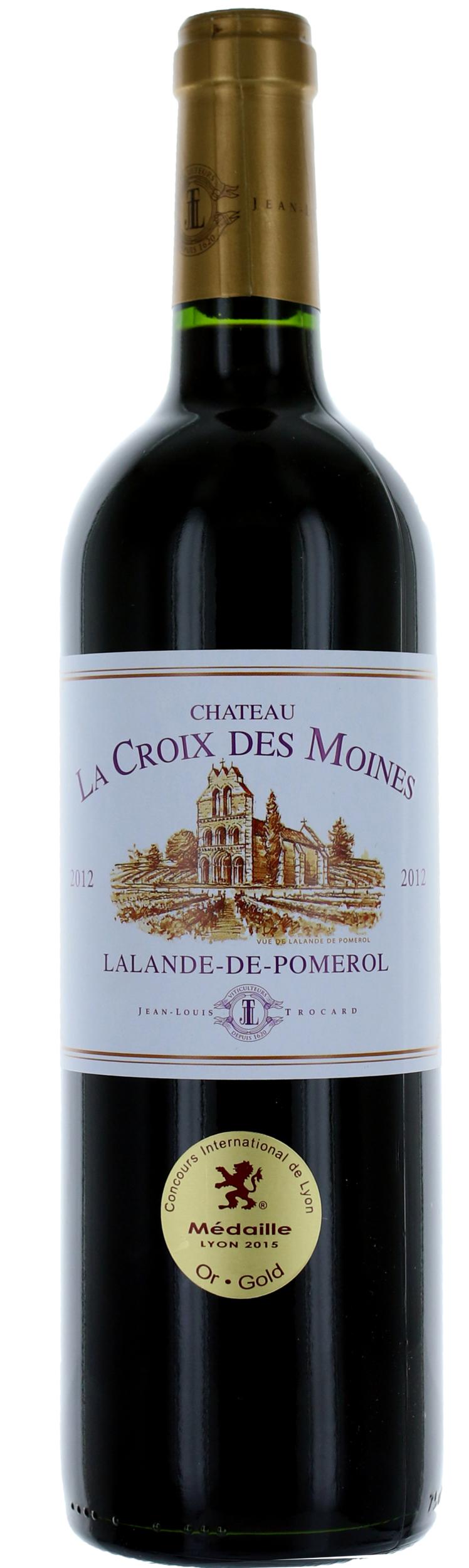 Lalande de Pomerol - Château La Croix Des Moines - Jean Louis Trocard - 2016