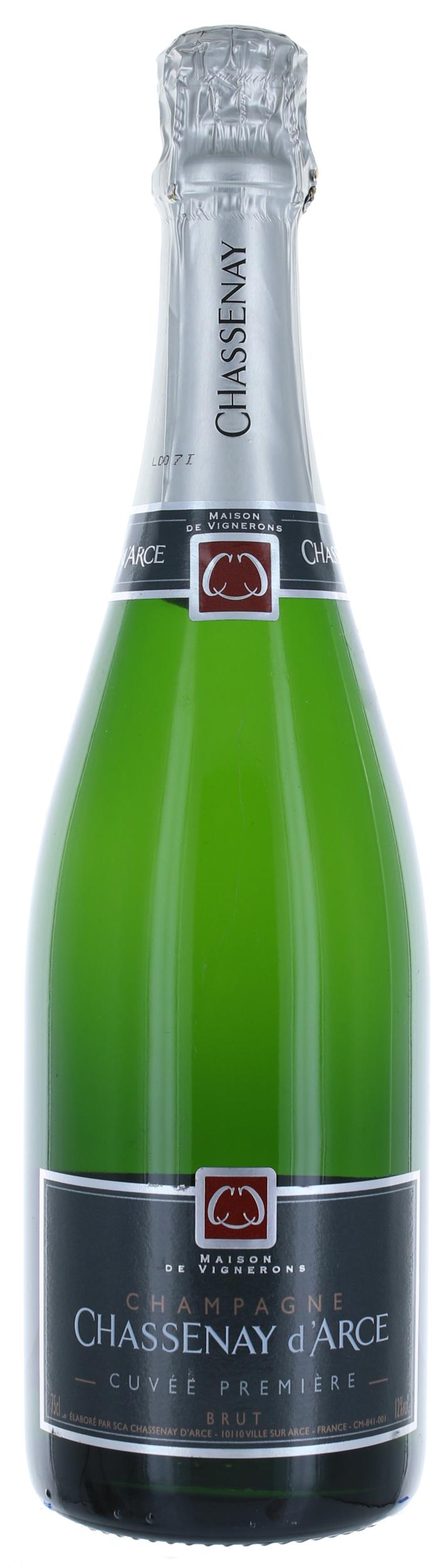 Cuvée Première Brut - Champagne Chassenay D\'Arce - Demi-Bouteille - 37,5cl