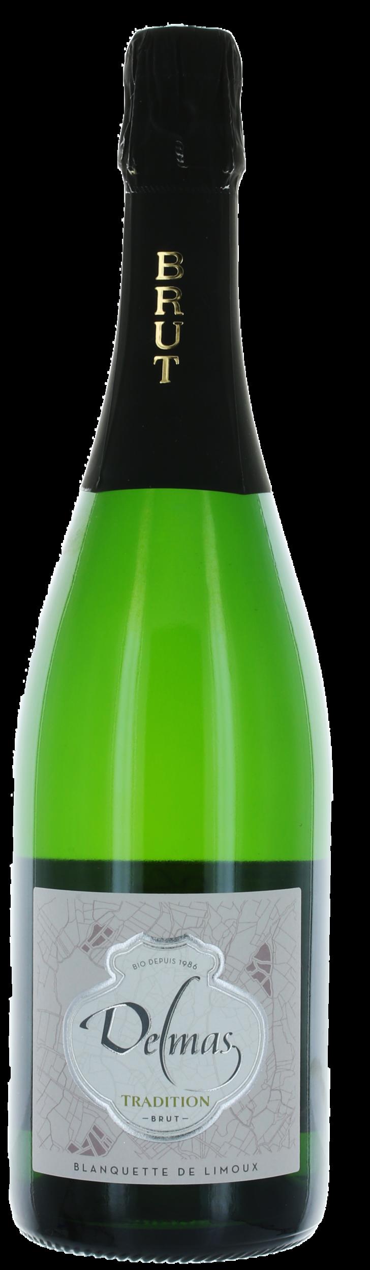 Blanquette de Limoux - Cuvée Tradition - Domaine Delmas - BIO