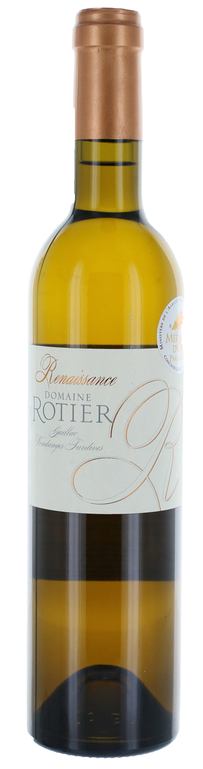 Gaillac - Renaissance Vendanges Tardives 0,50 L - Domaine Rotier - 2013 - BIO