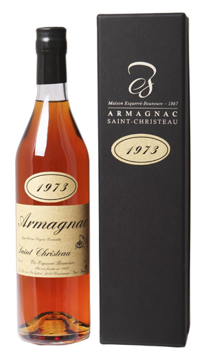 ARMAGNAC - 1973 - Saint-Christeau - 40° - G. Miclo