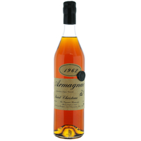 "ARMAGNAC 1962 ""Saint-Christeau"" - 40° - G. Miclo"