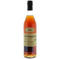 "ARMAGNAC 1967 ""Saint-Christeau"" - 41° - G. Miclo"