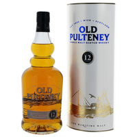 Old Pulteney 12 ans - Ecosse Highlands - Single Malt - Non tourbé - 70cl - 46°