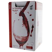 IGP Côtes Catalanes - Cubi de qualité - Le Tonnelet - 10L  - Domaine Dom Brial - ROUGE