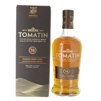 Tomatin 18 ans - Ecosse Highlands - Single Malt - Non tourbé - 70cl - 46°