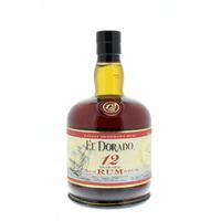 El Dorado 12 ans - Guyane Anglaise - 70cl - 40°