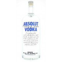 Absolut Blue - Suède - 4.5l - 40°