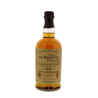 Balvenie 14 Years Carribean Cask - Ecosse -  Single Malt - Non Tourbé - 70cl - 43°
