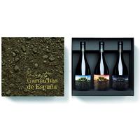 Coffret (Espagne) de 3 bouteilles Garnachas