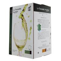 IGP Côtes Catalanes - Cubi de qualité - Le Tonnelet - 5L - Domaine Dom Brial - BLANC