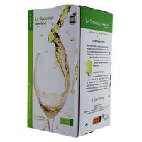 IGP Côtes Catalanes - Cubi de qualité - Le Tonnelet - Domaine Dom Brial - 3L - MUSCADET SEC