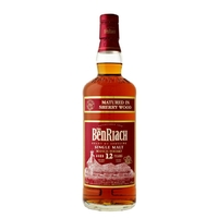 Benriach 12 ans Sherry - Ecosse Speyside - Single Malt - Non tourbé - 70cl - 46°