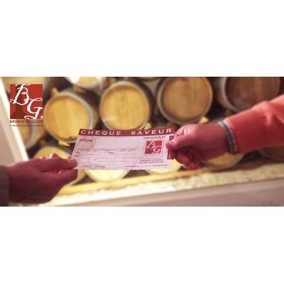 cheque saveur des vins brunin-guiller