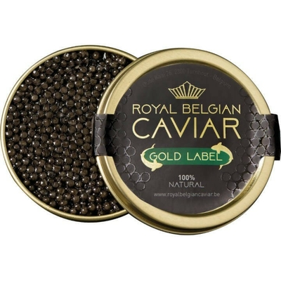 Caviar Royal Belgian Gold label