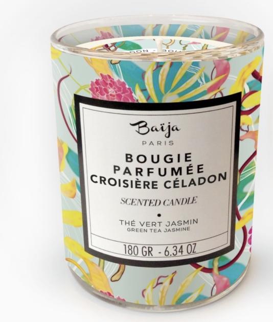 Bougie parfumée - Thé vert et Jasmin - Croisière Céladon
