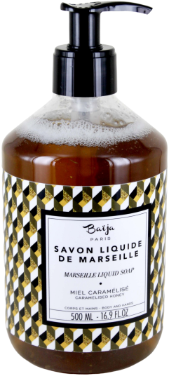 Savon liquide de Marseille Baija - Miel caramélisé - Festin Royal