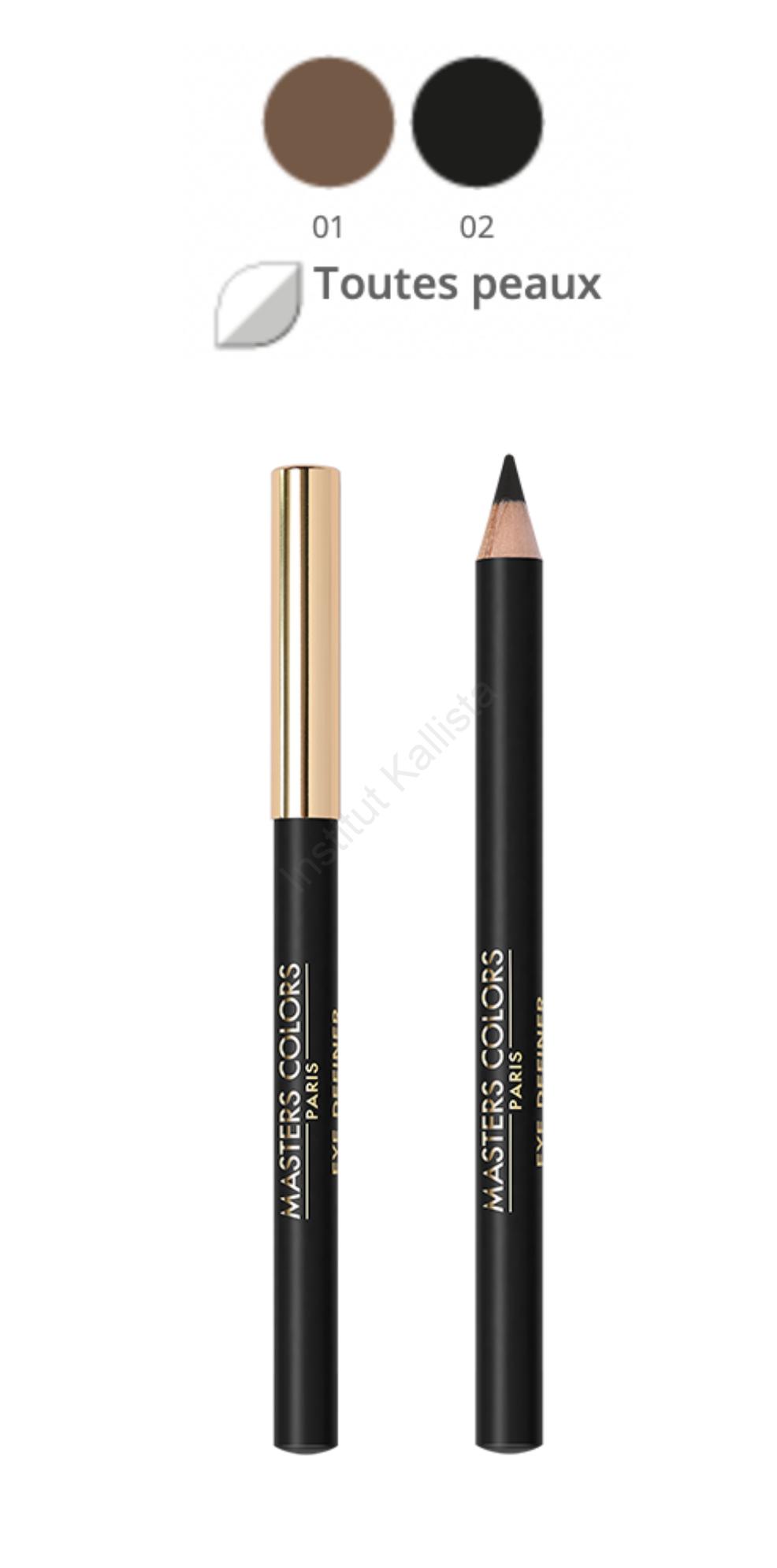 Crayon yeux : Eye definer - Masters Colors, 2 teintes au choix