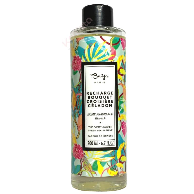 Recharge bouquet parfumé Baija - Thé vert et Jasmin - Croisière Céladon