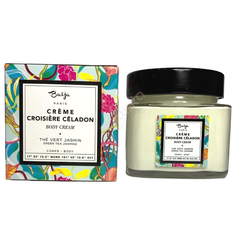 Crème hydratante corps Baija - Thé vert et Jasmin -Croisière Céladon