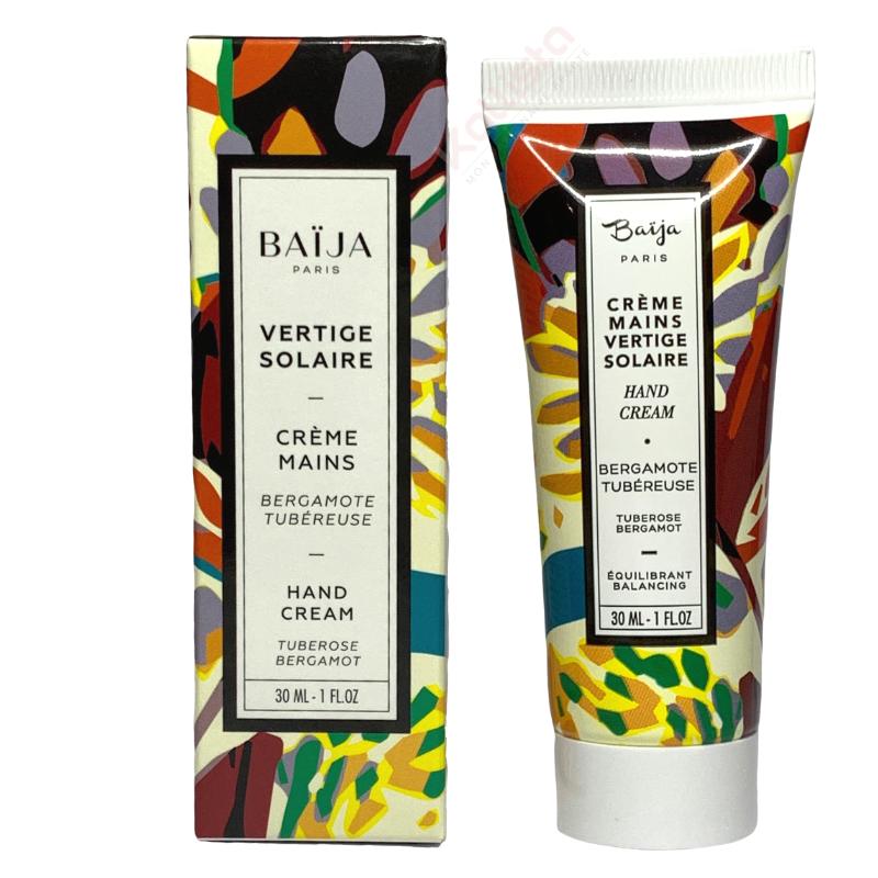 Crème mains Baija - Bergamote Tubéreuse - Vertige Solaire