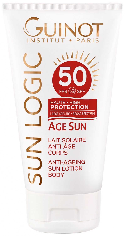 Age Sun Lait solaire anti âge corps SPF50 Guinot