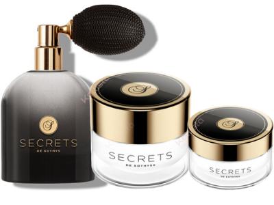 Coffret Secrets Sothys - Trio crème visage, crème yeux lèvres et eau de parfum
