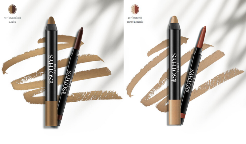 Duo smocky yeux : Crayon contour yeux & Crayon smocky yeux Sothys