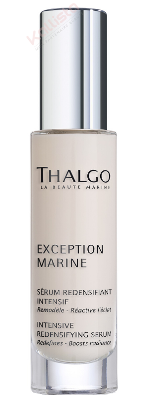 Sérum redensifiant intensif Thalgo : remodeler, réactiver l\'éclat - Exception Marine