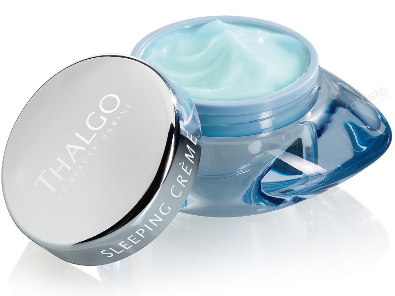 sleeping-creme-recuperation-thalgo-pot-ouvert