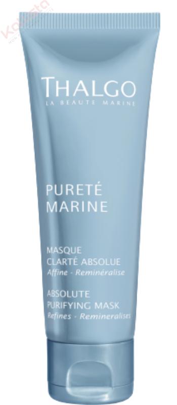 Masque Thalgo Pureté Marine - Clarté absolue : affine, reminéralise, peaux mixtes à grasses
