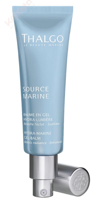 Baume en gel hydra-lumière Thalgo : réveiller l\'éclat, sublimer - Source Marine