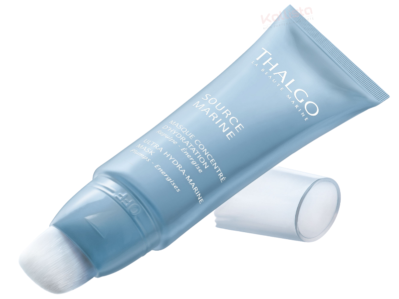 Thalgo Source Marine - Masque Concentré d\'Hydratation : repulpe et énergise, toutes peaux