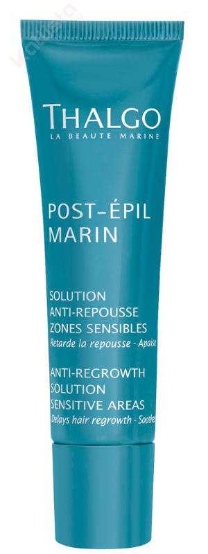 Thalgo Anti Repousse - Solution Zones Sensibles : Retarder la repousse, apaiser - Post-Épil Marin
