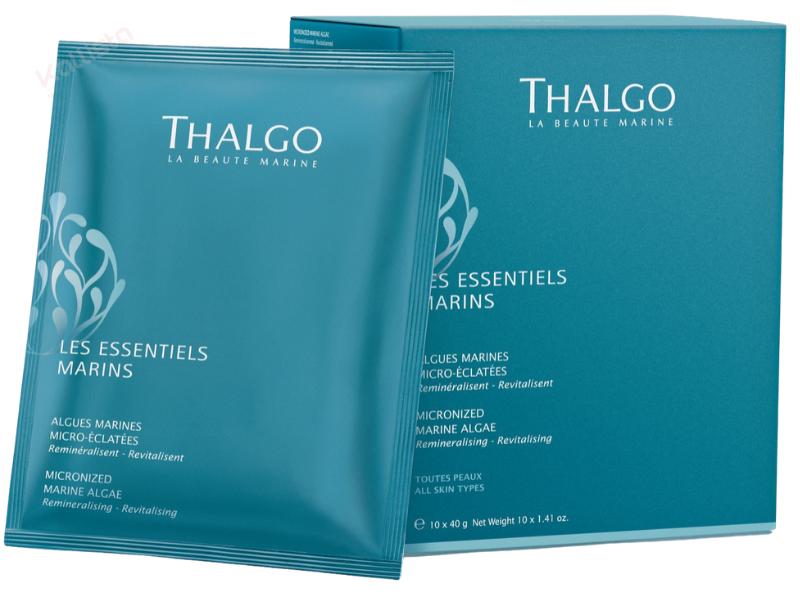 Algues micro-éclatées Thalgo : reminéralisant, revitalisant - Les essentiels marins