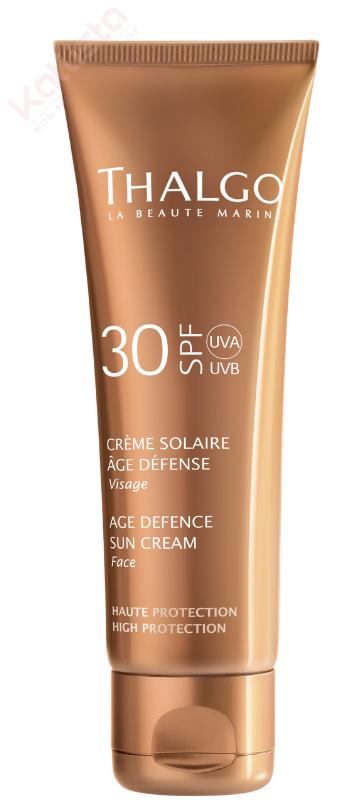 Crème Solaire Age Défense SPF30 Thalgo