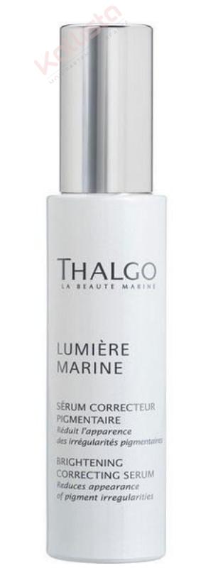 Sérum correcteur pigmentaire Thalgo : réduit l\'apparence des irrégularités pigmentaires - Lumière marine